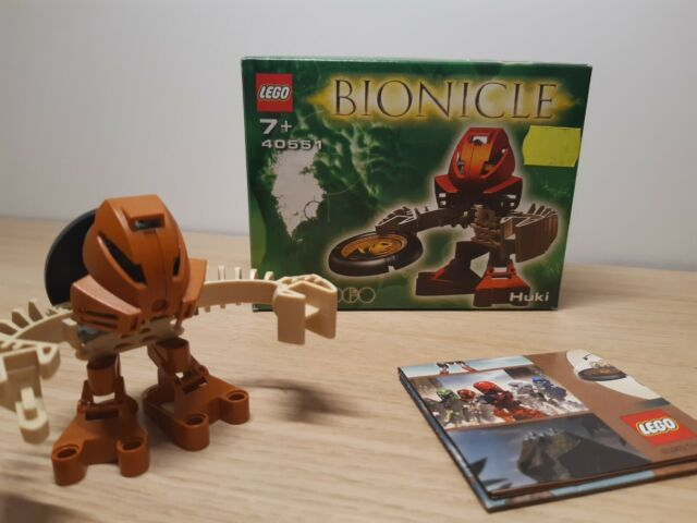 Very Rare LEGO Bionicle Region Exclusive Packaging 2001 #1388 Huki