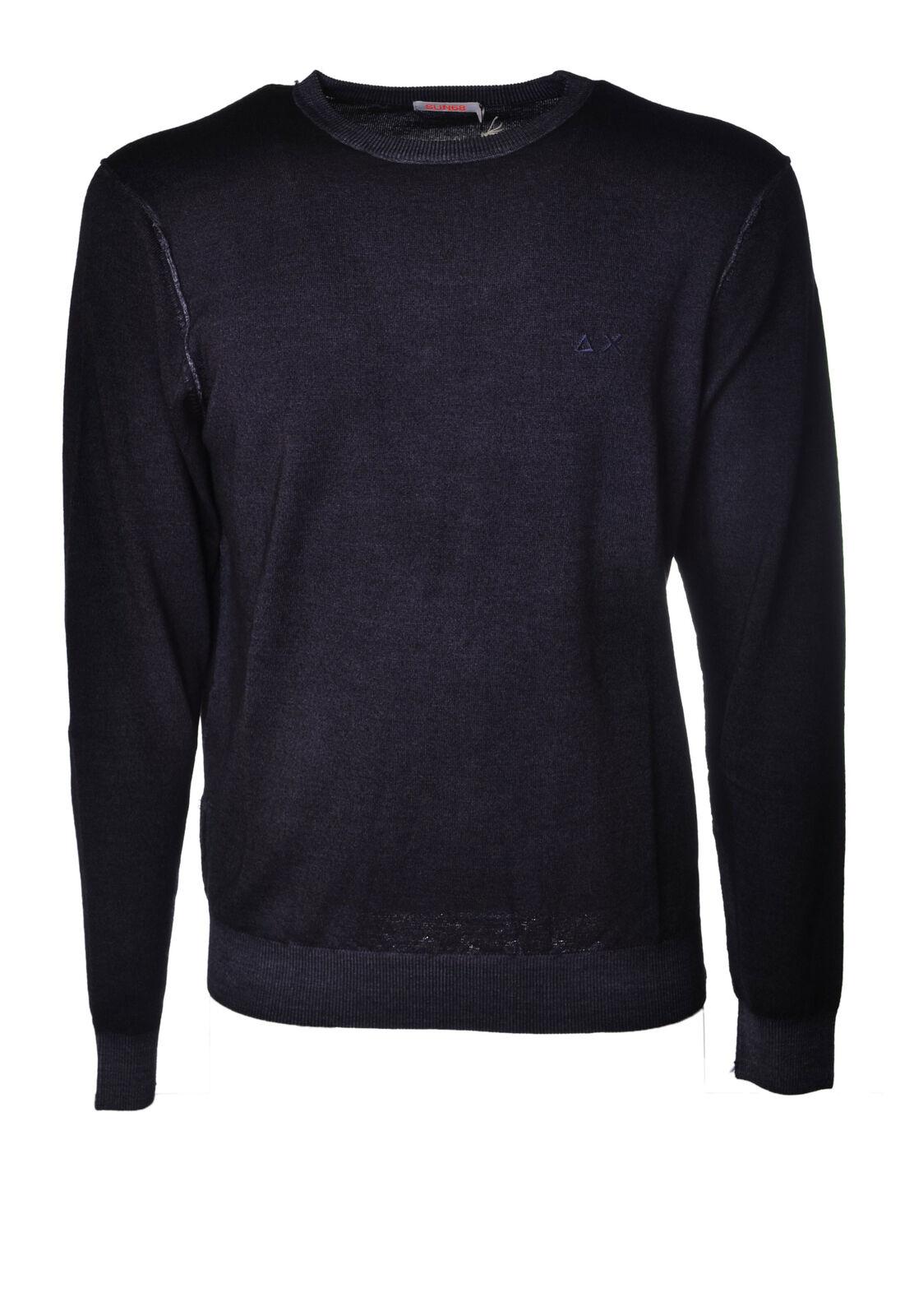 Sun 68  -  Sweaters - Male - bluee - 4017430A184818