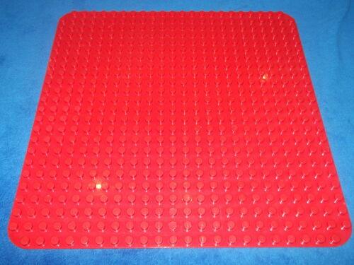 Lego Duplo Rote Bauplatte Platte 38 x 38 cm Puppenhaus Rot