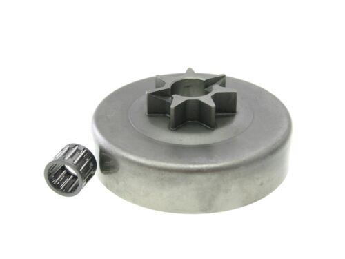 """Kupplungsglocke 404/"""" 7Z mit Nut für Stihl 075 076 AV chain sprocket"""