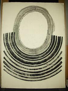TempéRé Raoul Lazar (1938) Estampe Art Abstrait Contemporain Museum And Gallery Holdings