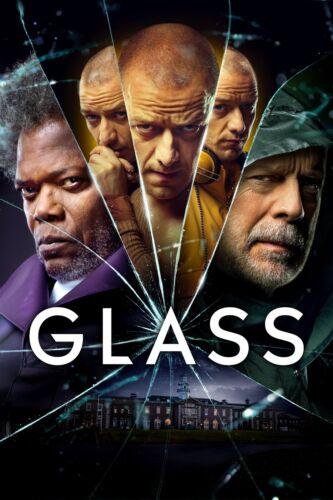 Glass 2019 Movie Poster A0-A1-A2-A3-A4-A5-A6-MAXI in sizes C369