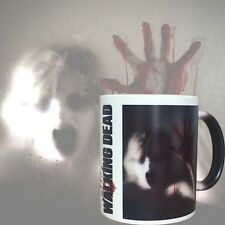 New Ceramics Heat Sensitive Color Changing Coffee Mug Cup Walking Dead Zombie US