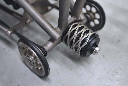 Japan Matumura Kohki Scrowave Springs Suspension for Brompton Bicycle