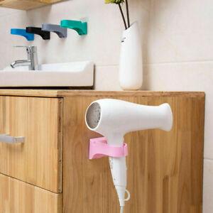 Hair-Dryer-Storage-Rack-Holder-Wall-Mounted-Stand-Shelf-Bathroom-Bedroom-Use