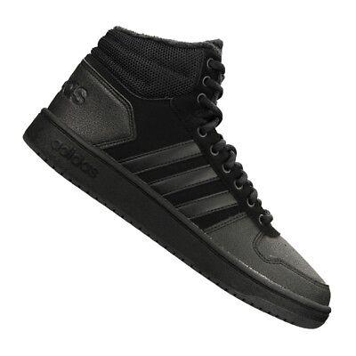 Adidas Hoops 2.0 Mid Scarpa in pelle modello alto.