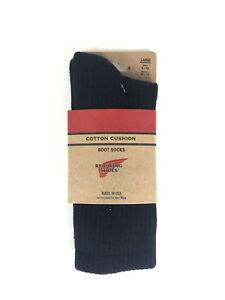 Red-Wing-Cotton-Cushion-Socks-Black-Socken-Groesse-41-46-97243-Neu