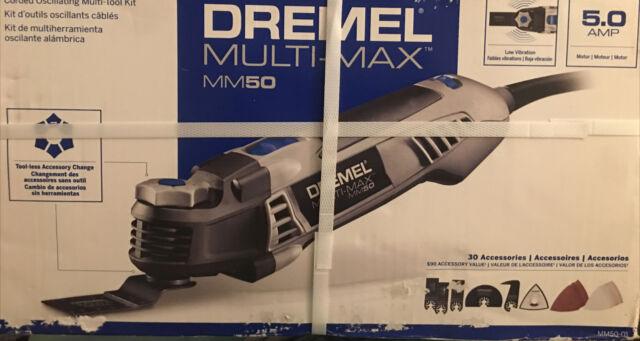 Factory Recon Dremel MM50-DR-RT Multi-Max 5Amp Tool-Less Oscillating Tool Kit