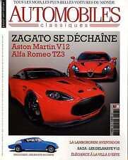 AUTOMOBILES CLASSIQUES n°208 07/2011 ASTON V12 ALFA TZ 3 LAMBORGHINI AVENTADOR