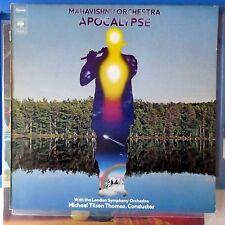 MAHAVISHNU ORCHESTRA LP APOCALYPSE 1974 EUROPE VG++/VG++