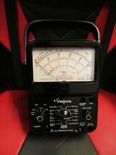 Simpson 260 Series 7 7p Analog Vom Overload Protection Volt Ohm Meter Multimeter