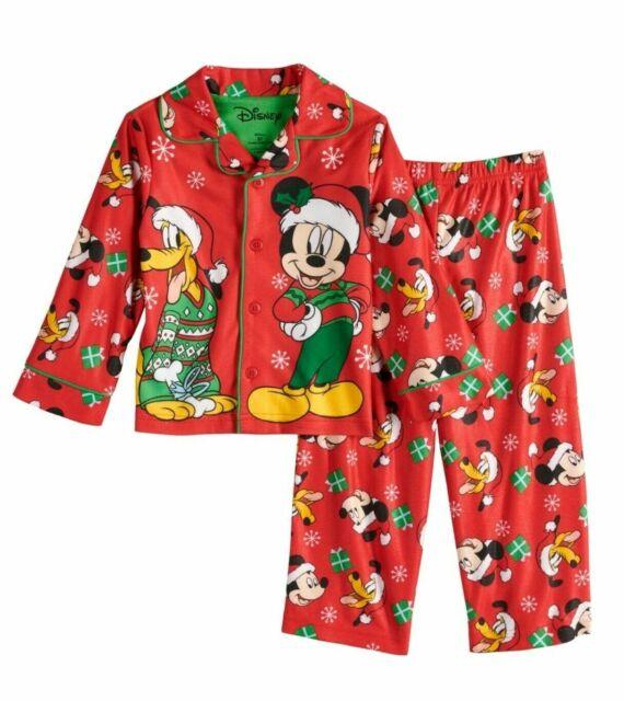 Mickey Mouse Disney Boys 2-Piece Pajama Set