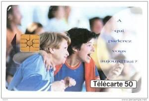 921 F921 - 09/98 - Telecarte 50 - Publi Supporters A Qui Parlerez-vous Aujourd´h Soulager La Chaleur Et Le Soleil