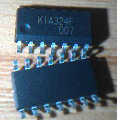 5 pcs New KIA324F-EL/P KIA324F K1A324F SOP14  ic chip