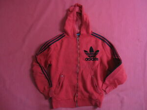 Jacket Trefoil 70's 12 14 À Survetement Sur Détails Ou Capuche Vintage Adidas Veste Ans vmNn0wOy8P