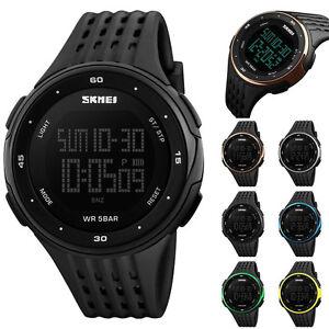 SKMEI-hombres-Deporte-Quartz-analogico-Digital-Militar-reloj-pulsera-Impermeable