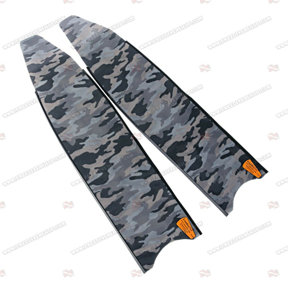 Leaderfins Grey Camouflage Freediving Spearfishing Blades (1 Pair    2 Blades)  take up to 70% off