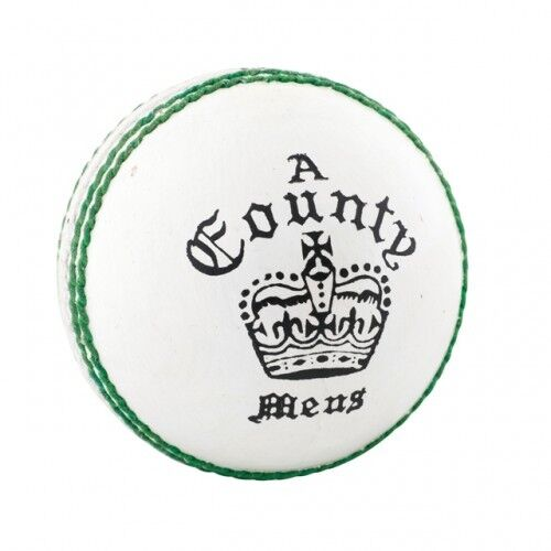 Readers County Grade A White Leather Cricket Ball
