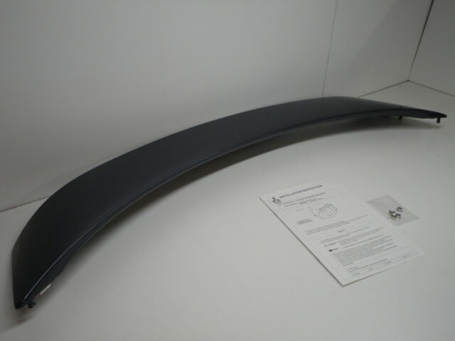 GENUINE MITSUBISHI LANCER CJ 2006-2013 PREMIUM SPOILER MR936522 ~ A39 GREY MICA