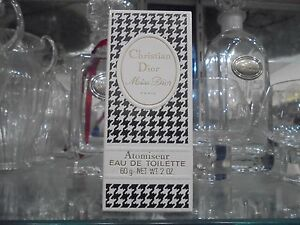 MISS-DIOR-CHRISTIAN-DIOR-EDT-atomiseur-60g-very-rare-vintage-perfume-034-sealed-034-80-039-s