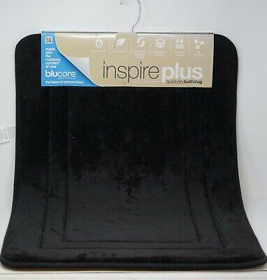 "Blucore Quick Dry Technology Navy Sunham Inspire Plus Foam Bath Rug 21X34/"""