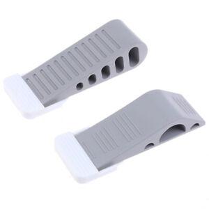 Door-Stopper-Rubber-Stop-Floor-Wedge-Holder-Doorstop-Safety-Guard-Home-Wall-UK