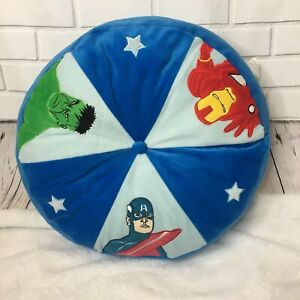 Surprising Details About Marvel Comics Round Pillow Avengers Captain America Ironman The Hulk Blue C1 Pdpeps Interior Chair Design Pdpepsorg