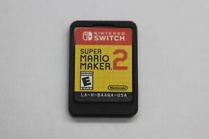 Super Mario Maker 2 Nintendo Switch 2019 Cartridge Only No Case
