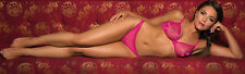 Gossard Glossies BH bra 75 B 34 B Neon Pink transparent glänzend
