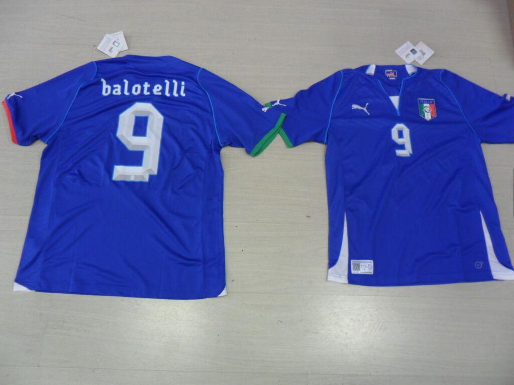 2576 XXL BALOTELLI CONFEDERATIONS ITALY SHIRT SHIRT ITALY SHIRT JERSEY