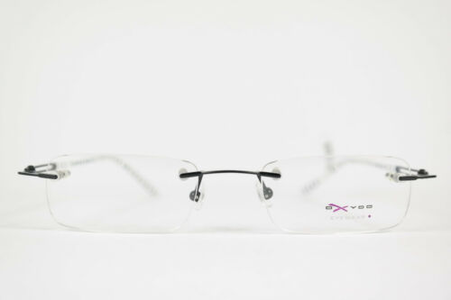 Oxyoo x 089 D 83h 49 19 135 Black White Rimless Frames Glasses New