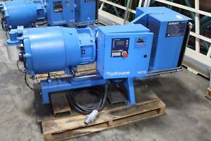 hydrovane hv15 air compressor working nice ebay rh ebay co uk