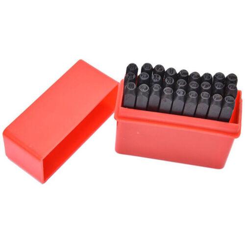 Kohlenstoffstahl Pin Punch Set Metall Stempel Buchstaben Punch Tool Set