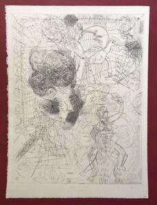 Pipì Paloma, tamburo di latta II, acquaforte, 1993, a mano firmata e datata