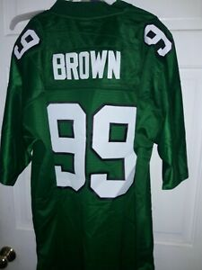 Details about Jerome Brown Philadelphia Eagles football shirt Jersey Gridiron Classic NFL 2XL