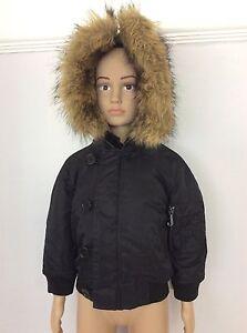 34e9cc59c JUICY COUTURE black Bomber Jacket Coat Girls Age 2 Years 24m New ...