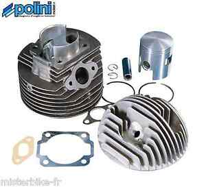 kit haut moteur fonte racing 57 130cc polini vespa 90 pk 80 125 xl et3 125 ebay. Black Bedroom Furniture Sets. Home Design Ideas