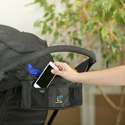 Stroller Organizer by Luna Bag - Magnetic Closure System, High Quality Accessory