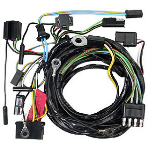 ford mustang headlight wiring loom harness 1965 65 coupe image is loading ford mustang headlight wiring loom harness 1965 65