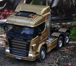New Tamiya Semi Truck 1 14 Custom Built Professional
