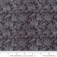 Moda Fabric Poppy Mae Robin Pickens (48604 16) Bursts Charcoal - By 1/2 Yard