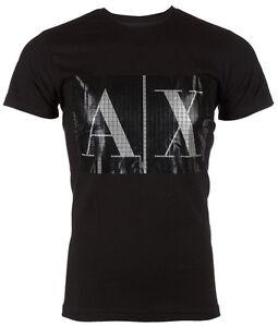 Armani Exchange Black T Shirt