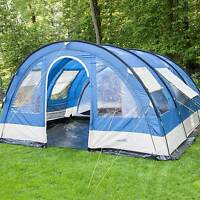 Skandika Helsinki 6 Person/man Family Tent 5000mm Column Optional Porch Area