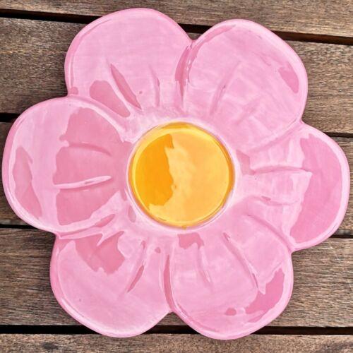 Tasse Untertasse Frida Porzellan 270ml Pink Rosa Blume Mädchen Boho Grün MUG