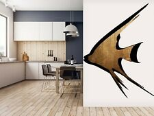3D Black Line Fish O248 Wallpaper Wall Mural Self-adhesive Boris Drasch Fay
