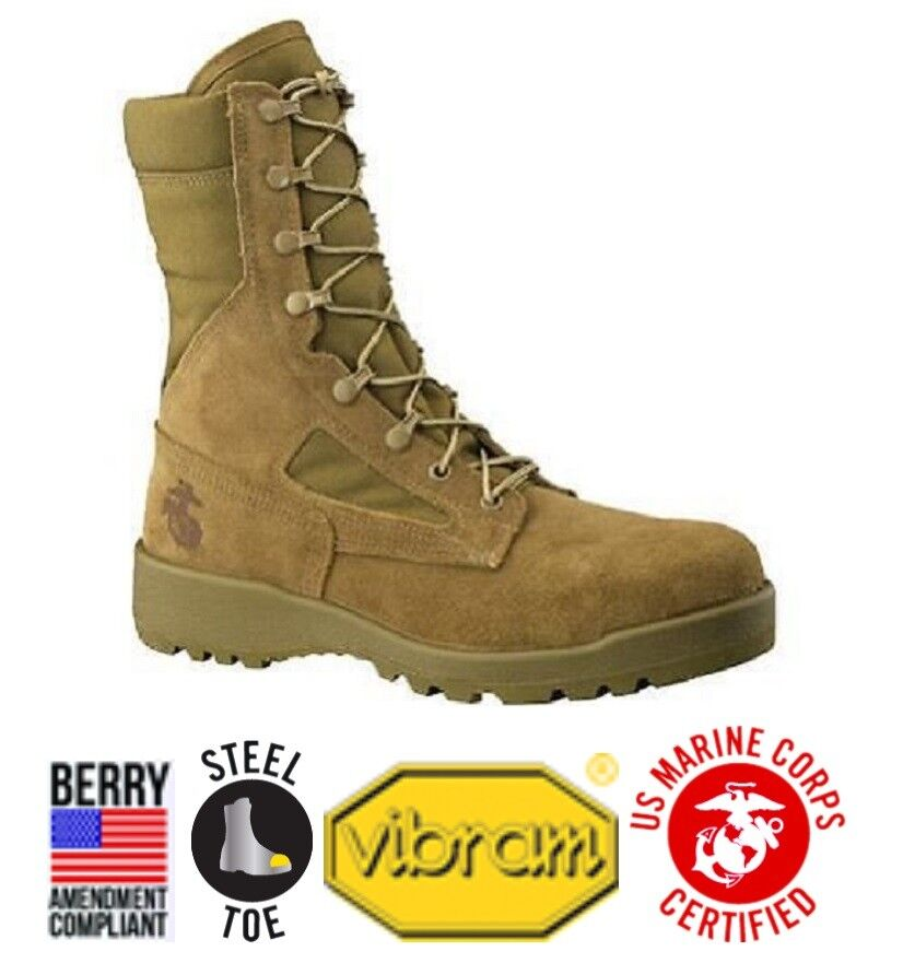 US Marine Corps USMC CEEA Belleville 550st USMC Army Boots T Army Bottes 11r T Boots 45 284b5c