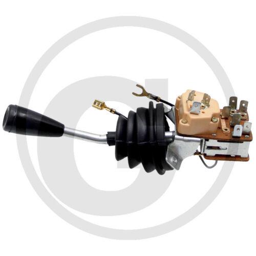 Interruptor combinado palanca doblada dos círculo /_ eicher