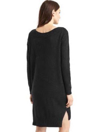 GAP WOMEN/'S 358734 SHINE COZY RIB TRIM SWEATER DRESS $79.95 NWTS S M L TALL