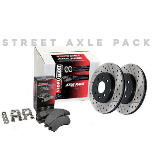 STOPTECH Hi-Performance Brake Rotors+Pads Kit for Ford 10-14 F150 6Lug 938.65015