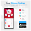 thumbnail 5 - Sinocare Body Weight Scale - High Precision Sensors - Health Analyzer with Smart